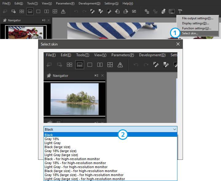 About SILKYPIX Developer Studio 8 SE   SILKYPIX Developer
