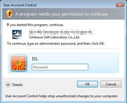 vista admin password